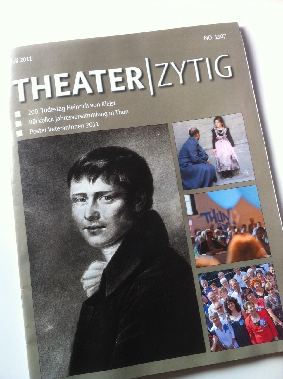 """Infos für Insider (I): """"Theater-Zytig"""""""